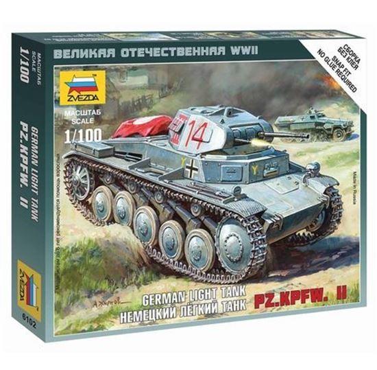 Изображение Звезда: 6102 Немецкий лёгкий танк PZ.KPFW. II