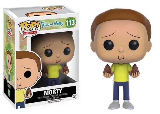 Изображение Funko POP! Vinyl: Rick & Morty: Morty 9016