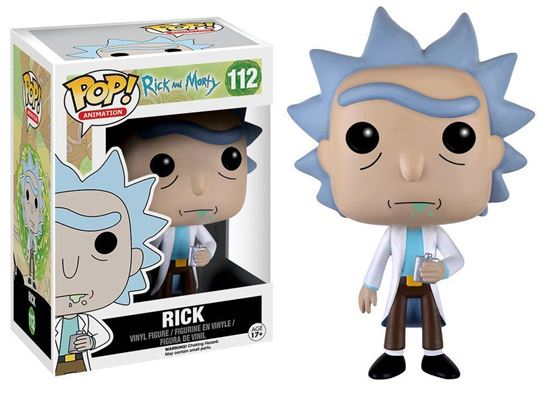Изображение Funko POP! Vinyl: Rick & Morty: Rick 9015