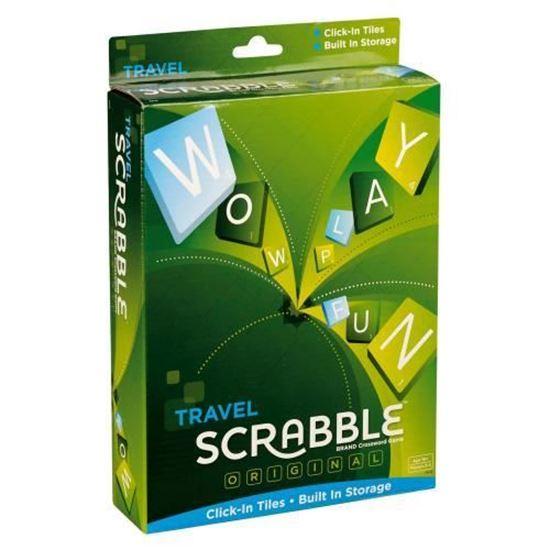 Изображение Mattel : Скрэббл Путешествие (Scrabble Travel)