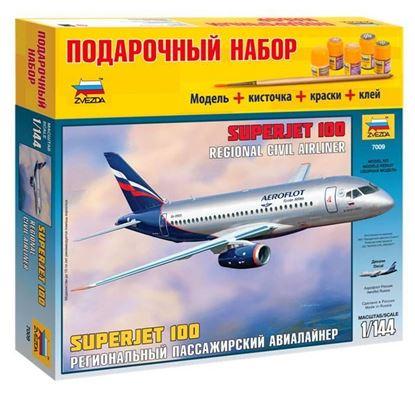 """Региональный пассажирский авиалайнер  """"Superjet 100"""". ПН 7009. Звезда"""