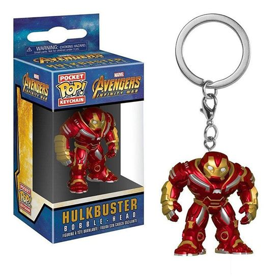 Брелок Funko Pocket POP! Keychain: Marvel: Hulkbus