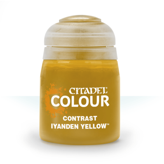 Краски Citadel: CONTRAST: Iyanden Yellow (18ML)