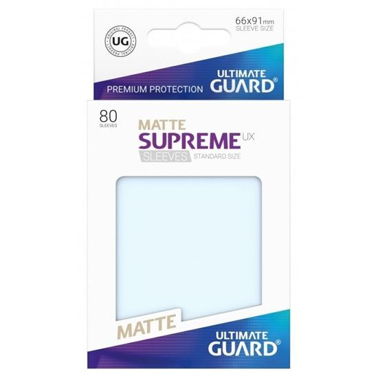 Ultimate Guard: 66*91 STANDARD SIZE  MATTE FROSTED