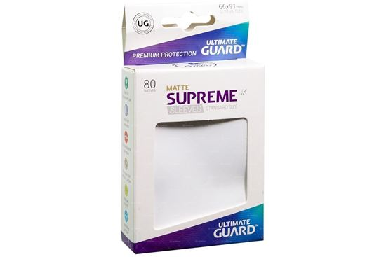 Ultimate Guard: 66*91 STANDARD SIZE  MATTE WHITE 8