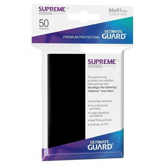 Ultimate Guard: 66*91 STANDARD SIZE BLACK 80 шт