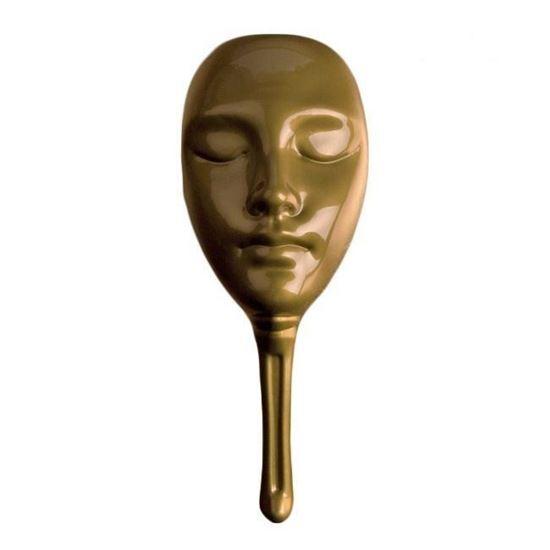 Нескучные игры: Мафия. Маска пластиковая золотая