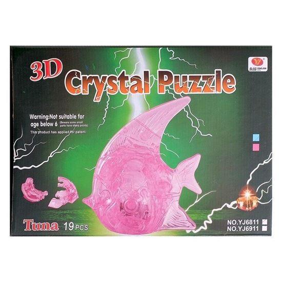 """Изображение Crystal Puzzle: Головоломка 3D """"Рыбка"""" арт.29020А"""