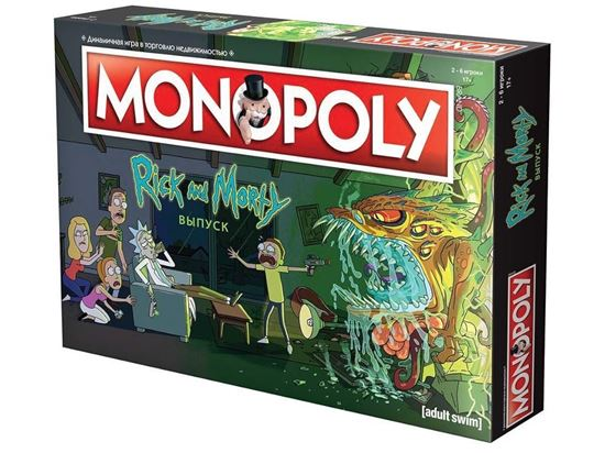 Изображение HobbyWorld: Монополия. Рик и Морти