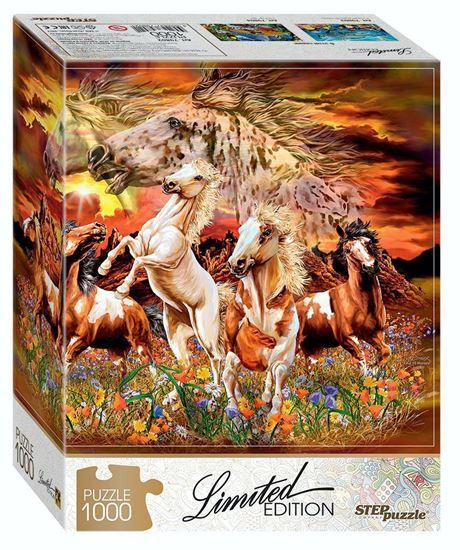 """Изображение Паззлы: 1000 """"Найди 16 лошадей"""" (Limited Edition)"""