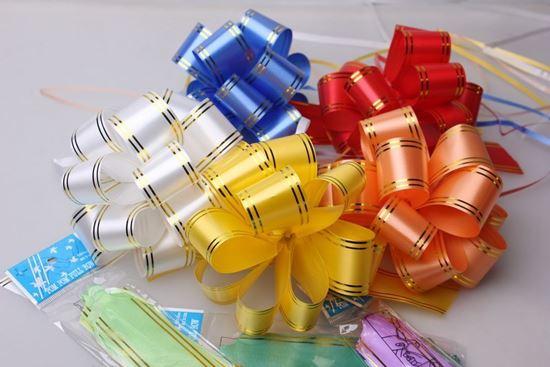 Изображение Упаковка подарков: Бант шар (большой) в ассортименте